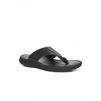 Arrow Footwear Men Black Slip On Flip Flop