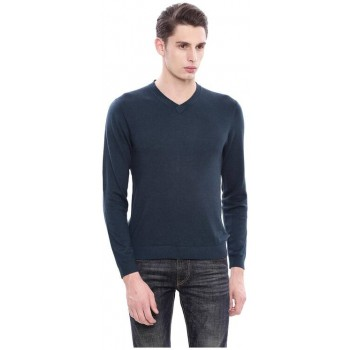 Arrow New York Men Casual Wear Solid Sweater