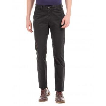 Arrow Sport Men Casual Wear Solid Trouser