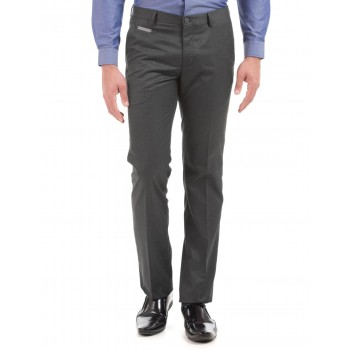 Arrow New York Men Casual Wear Solid Trouser