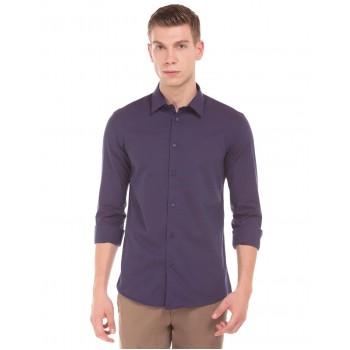 Arrow New York Men Casual Wear Striped Shirt
