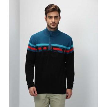 Arrow Sport Men Casual Wear Graphic Print Sweater