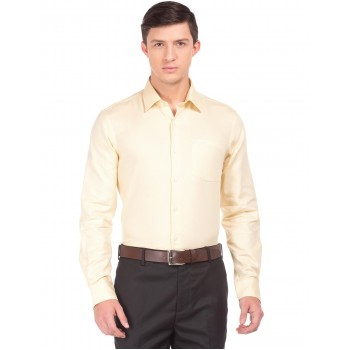 Arrow Men Casual Wear Solid Shirt