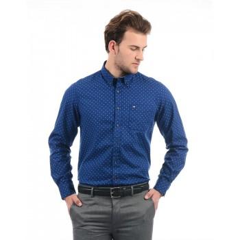 Arrow Sport Men Casual Wear Polka Print Shirt