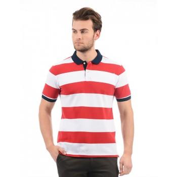 Arrow Sport Men Casual Wear Striped Polo T-Shirt