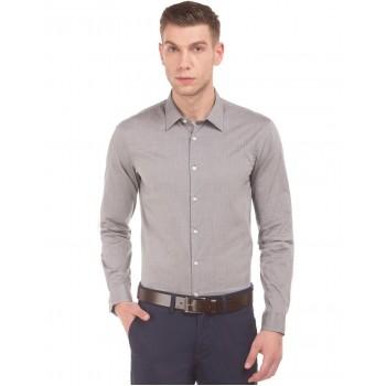 Arrow New York Men Casual Wear Polka Print Shirt