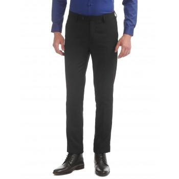 Arrow Men Casual Wear Solid Trouser