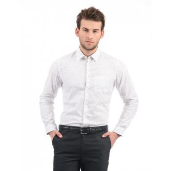 Arrow Men Formal Wear Printed Shirt