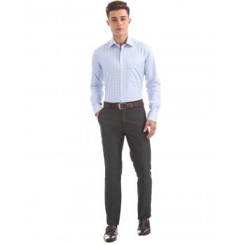 Arrow Formal Wear Checkered Men Trouser