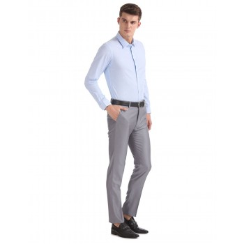 Arrow Formal Wear Striped Men Trouser