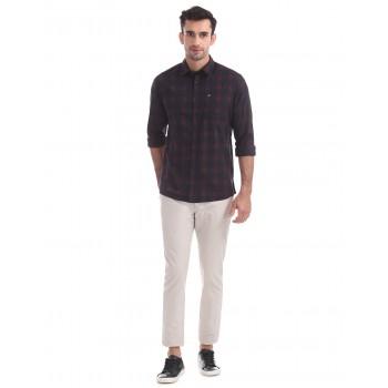 Arrow Sport Casual Wear Checkered Men Shirt