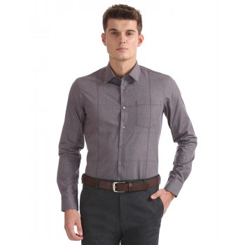 Arrow New York Men Casual Wear Textured Shirt