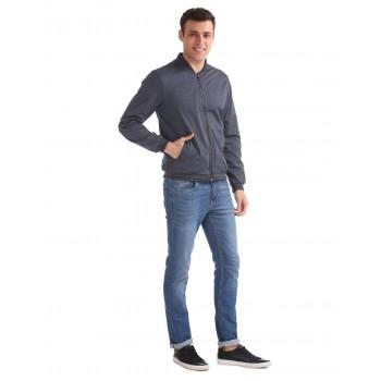 Arrow New York Casual Wear Solid Men Jacket