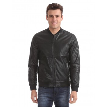 Arrow Sport Men Casual Wear Solid Jacket