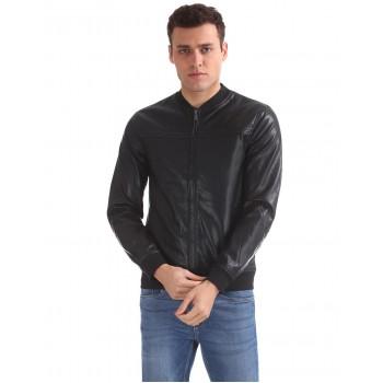 Arrow Sport Men Casual Wear Solid Jacket