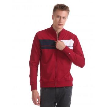 Arrow Sport Men Casual Wear Solid Sweatshirt