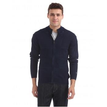 Arrow Sport Men Casual Wear Checkered Sweater