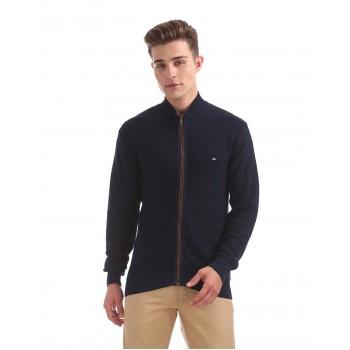 Arrow Sport Men Casual Wear Textured Sweater
