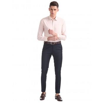 Arrow New York Formal Wear Checkered Men Trouser