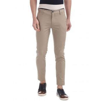 Arrow Sport Casual Wear Solid Men Trouser