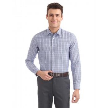 Arrow New York Men Casual Wear Checkered Shirt