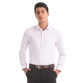 Arrow New York Men Casual Wear Checkered Shirt