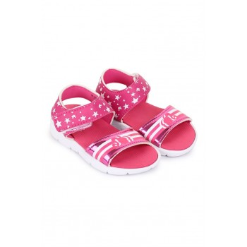 Barbie Girls Pink Casual Wear Sandals