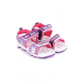 Barbie Girls Purple Casual Wear Sandals
