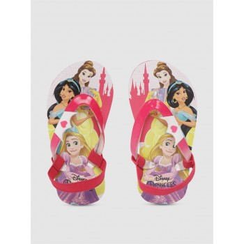 Disney Princess Girls Pink Casual Wear Filp-Flops