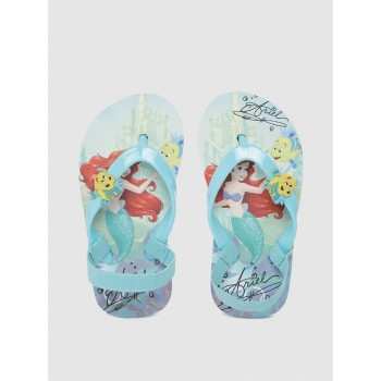 Disney Princess Girls Blue Casual Wear Filp-Flops