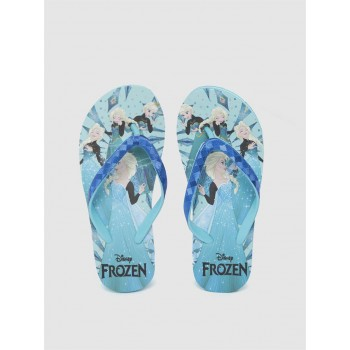 Frozen Girls Blue Casual Wear Filp-Flops