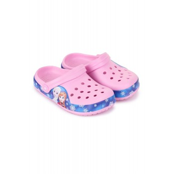 Frozen Girls Pink Casual Wear Clogs