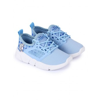 Frozen Girls Blue Casual Wear Shoes
