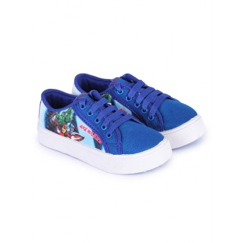 Marvel Boys Blue Casual Wear Shoes