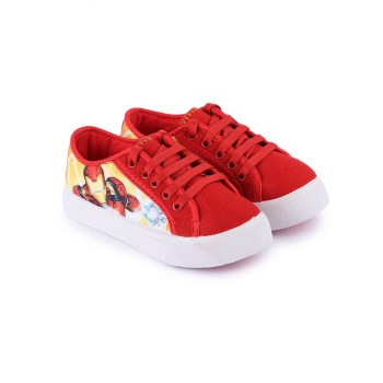 Marvel Boys Red Casual Wear Shoes