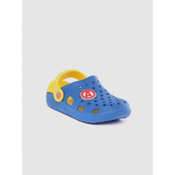 Marvel Boys Royal Blue Casual Wear Clogs