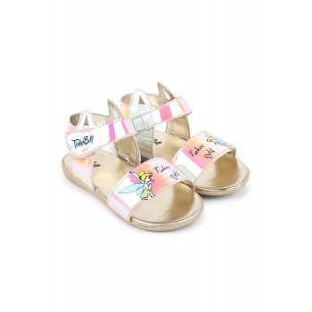Disney Princess Girls Gold Casual Wear Sandals