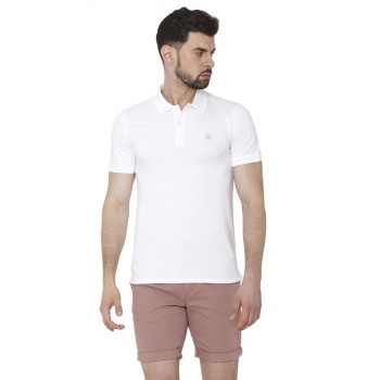 Selected Men Casual Wear Solid Polo T-Shirt