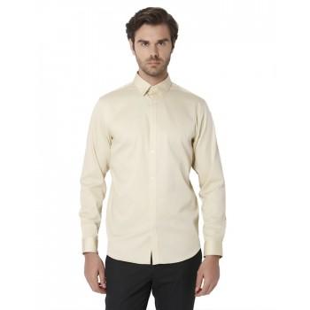 Selected Men Casual Wear Solid Shirt