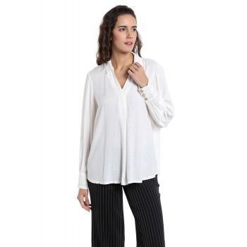 Vero Moda Women Casual Wear Solid Shirt
