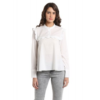 Vero Moda Women Casual Wear Solid Shirt