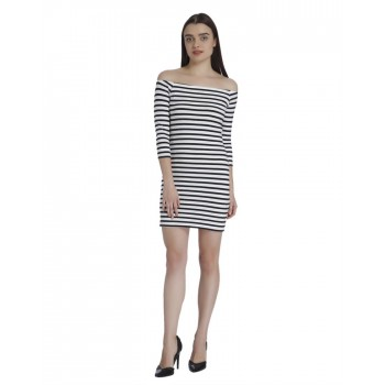 Vero Moda Women Casual Wear Striped Dress