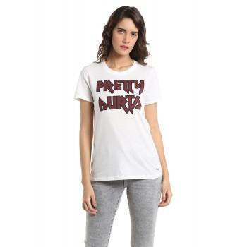 Vero Moda Women Casual Wear Graphic Print Top