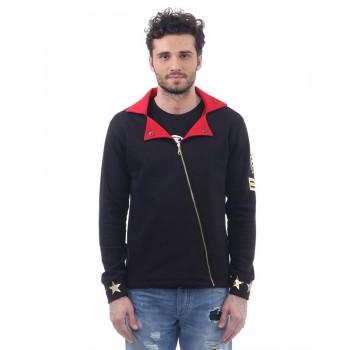 BJazzy Men Black Casual Wear Jacket