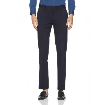 Blackberry Formal Men Formal Wear Solid Trousers