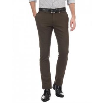 BlackBerry Men Formal Wear Textured Trousers