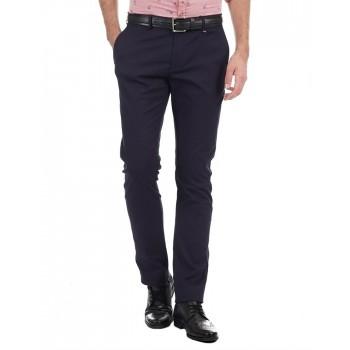 BlackBerry Men Formal Wear Solid Trousers