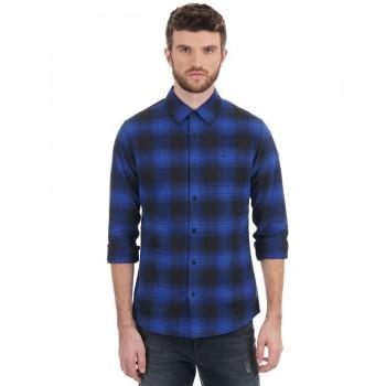 Calvin Klein Jeans Men Casual Wear Checkered Shirt