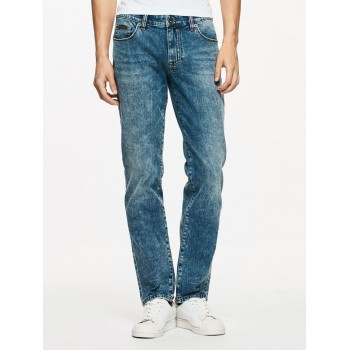 Calvin Klein Jeans Men Casual Wear Solid Jeans