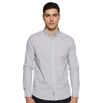 Calvin Klein Jeans Men Casual Wear Striped Shirt